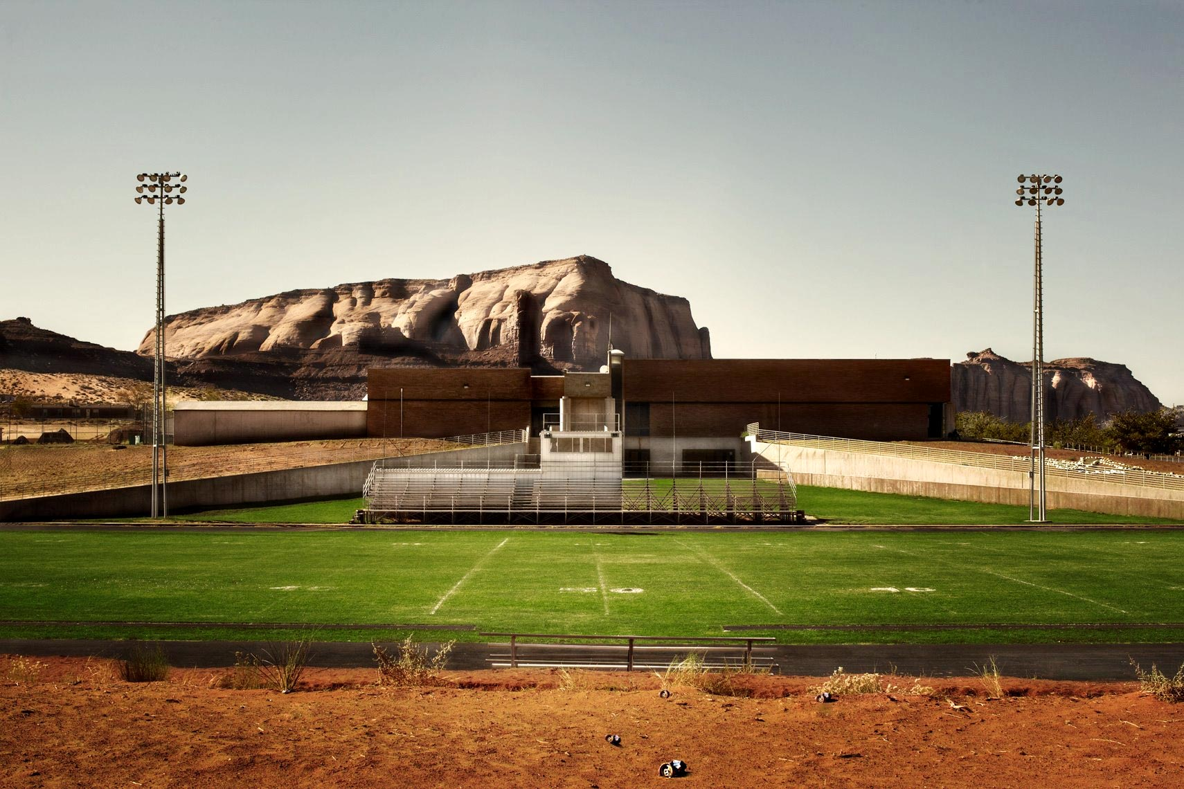 Colorado road trip football field